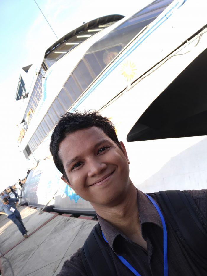 Max Pro M2 Kamera Belakang Selfie 1