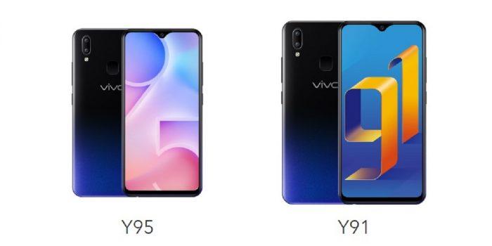Vivo Y91 VS Vivo Y95 Header