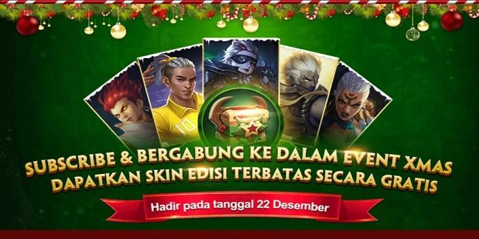 Winter Gala Mobile Legends - skin Gratis