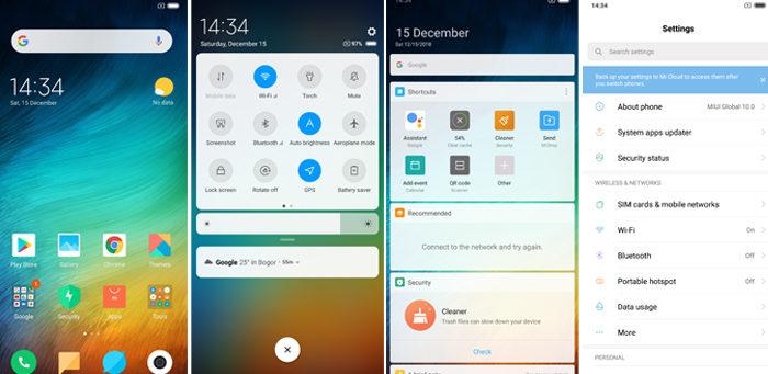Xiaomi Mi 8 Lite MIUI 10