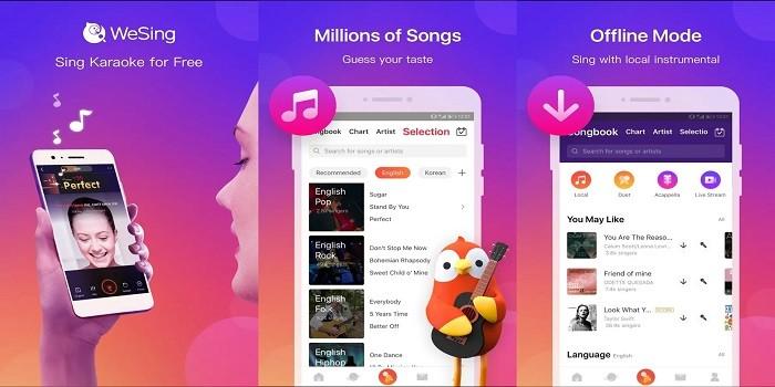 3 Aplikasi Karaoke Terbaik Untuk Android di Awal Tahun 2019 - WeSing