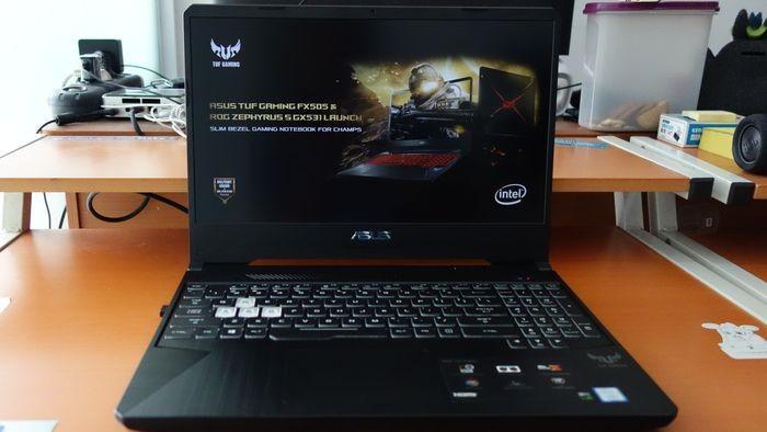 ASUS TUF Gaming FX505 Depan