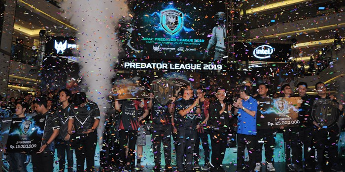 Juara Final Asia Pacific Predator League 2019