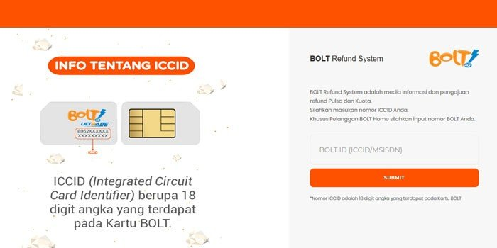 BOLT Refund System okl