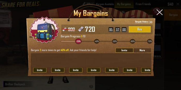 Cara Bargain Pubg Mobile Header