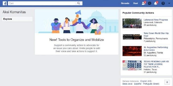 Cara Buat Petisi di Facebook Header