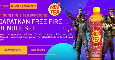 Free Fire Fruit Tea Feature