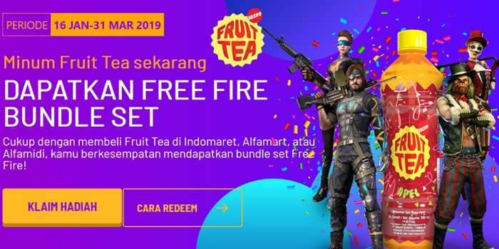 Event Free Fire Fruit Tea Header