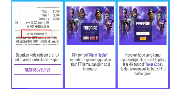 Free Fire Fruit Tea Indomaret