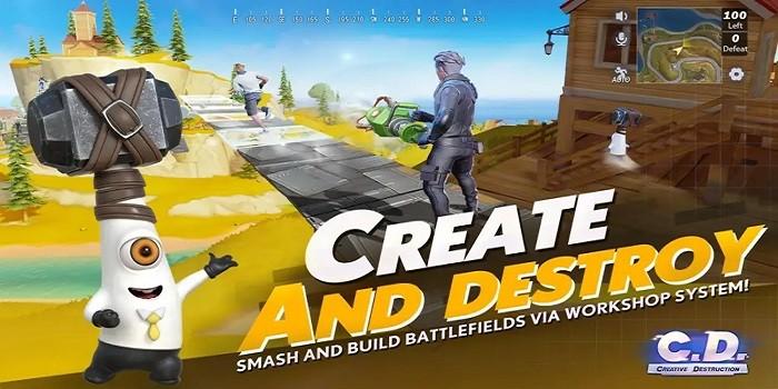 Game Mirip PUBG Online Offline Creative Detruction