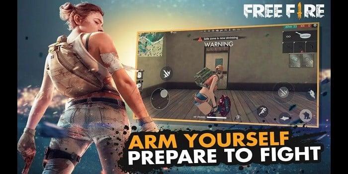 Game Mirip PUBG Online Offline FF