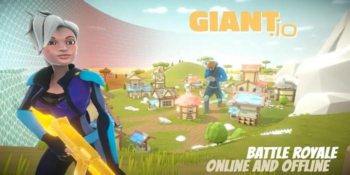 Game Mirip PUBG Online Offline Giant.io