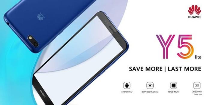 Huawei Y5 Lite Header