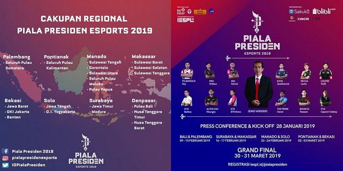 Piala Presiden Mobile Legends Regional