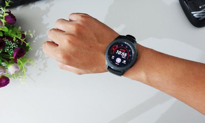 Samsung Galaxy Watch Header