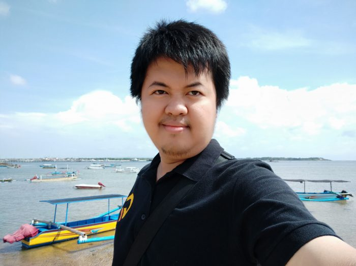 Xiaomi Mi A2 - Selfie Normal Cukup Cahaya
