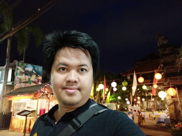 Xiaomi Mi A2 - Selfie Normal Minim Cahaya