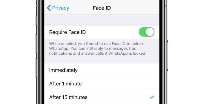 Cara Mengunci WhatsApp iPhone