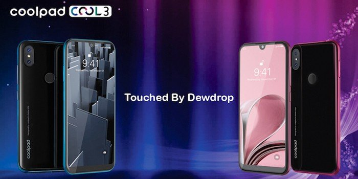 Coolpad Cool 3 Header