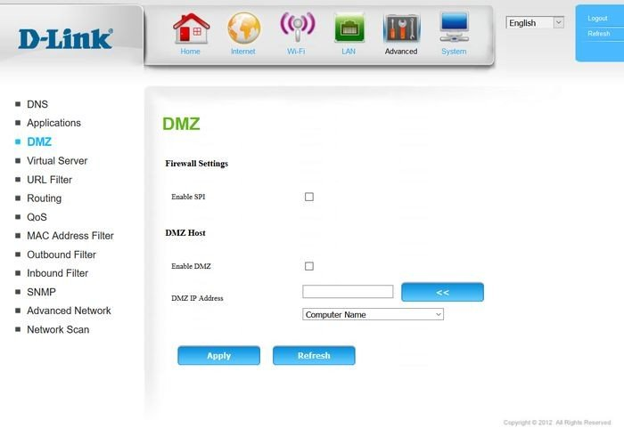 D-Link DWR-921 Fitur