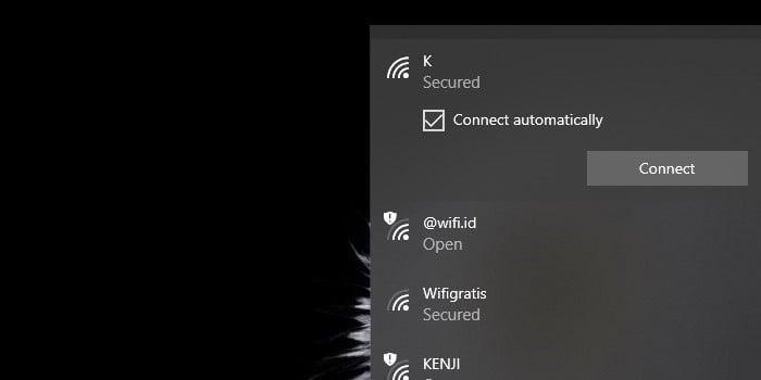 Laptop Tidak Bisa Connect Wi-Fi - SSID