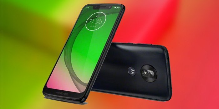 Moto G7 Play Header