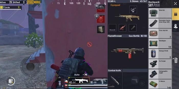 PUBG Mobile Zombie Mode Senjata Baru