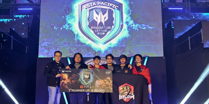 Predator League BOOM.id Juara Dua Header