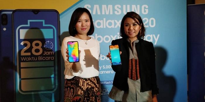Samsung Galaxy M20 Resmi Dijual di Indonesia Header