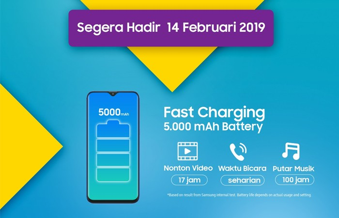 Samsung Galaxy M20 Lazada Poster