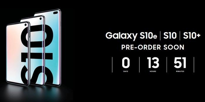 Samsung Galaxy S10 Pre-order Header