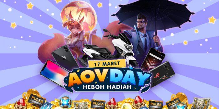 event AOV Day Heboh Hadiah Header