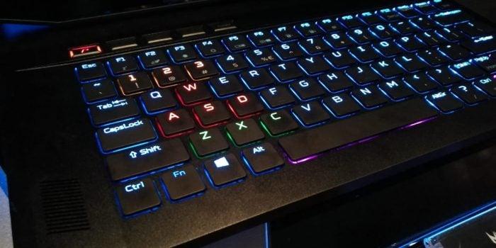 Acer Predator Triton 500 Keyboard