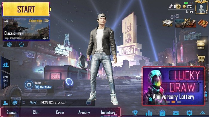 Anniversary Lottery Ticket PUBG Mobile - Cara Akses