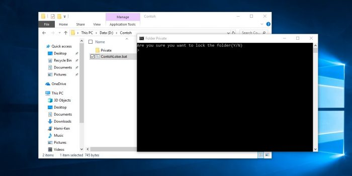 Cara Mengunci Semua Jenis File di Laptop Windows 10 Tanpa Aplikasi ...