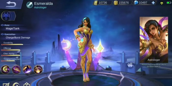 Esmeralda Mobile Legends Header