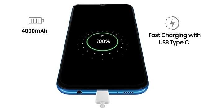 Kelebihan dan Kekurangan Samsung Galaxy A50 Baterai