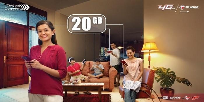 Kuota Keluarga Telkomsel - Header