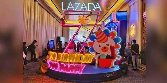 Lazada 7 Party
