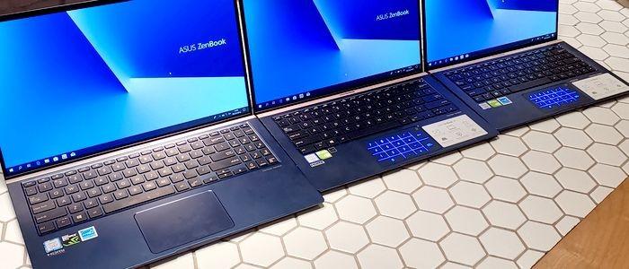 Perbedaan ASUS ZenBook 2019 NumberPad