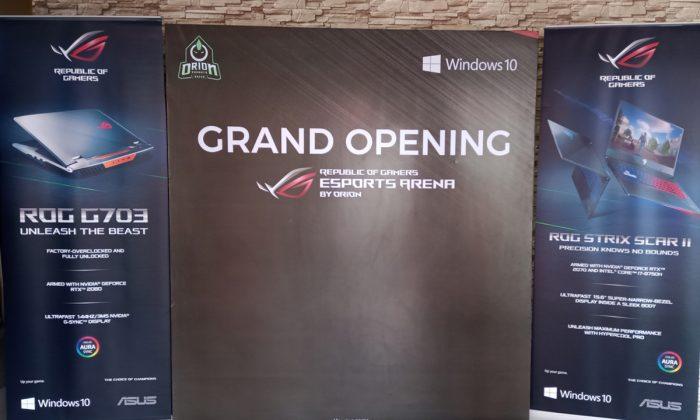 ROG eSport Opening