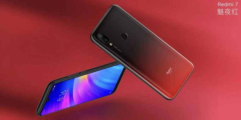 Redmi 7 Feature Red