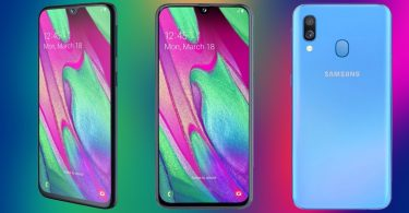 Samsung Galaxy A40 Feature