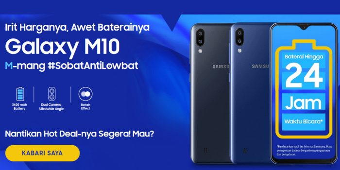 Samsung Galaxy M10 Feature