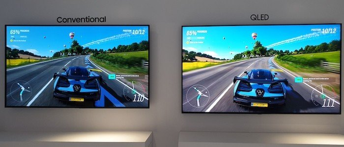 Samsung TV QLED vs Conventional TV