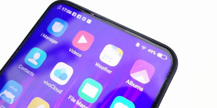 Redmi Note 7 Vs Vivo V15 Desain layar