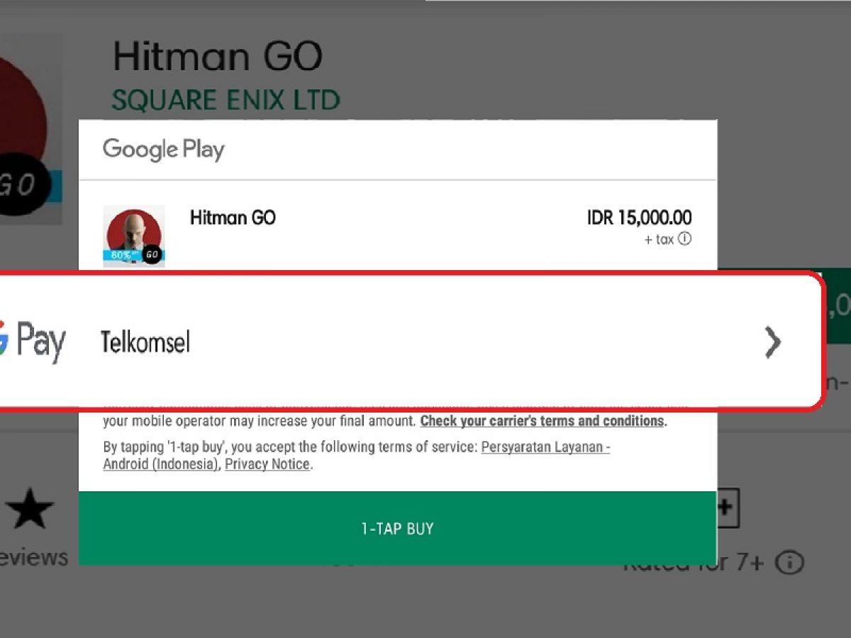 Cara Menambahkan Metode Pembayaran Telkomsel Di Google Play Store Gadgetren