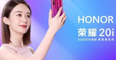 Honor 20i Promo Shot Featured