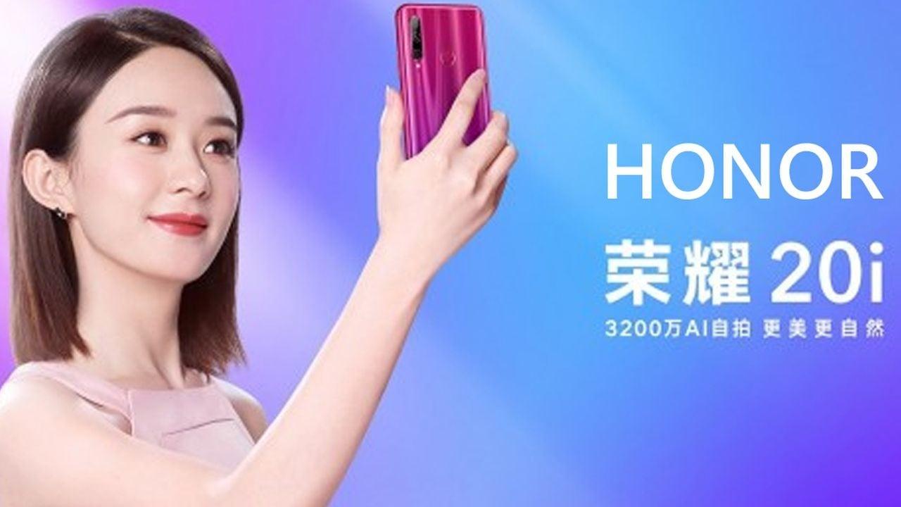 Honor 20i Promo Shot Featured