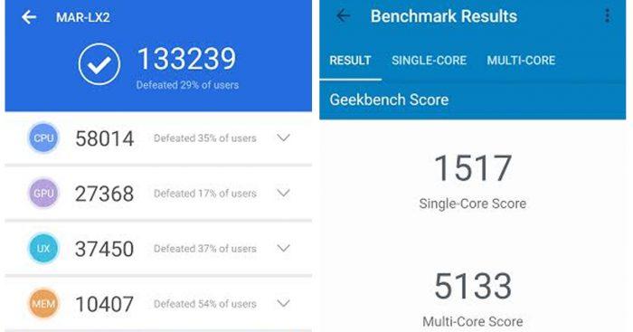 Huawei P30 Lite Benchmark